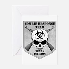 Zombie Response Team: Texas Division Greeting Card