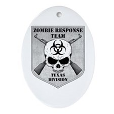 Zombie Response Team: Texas Division Ornament (Ova