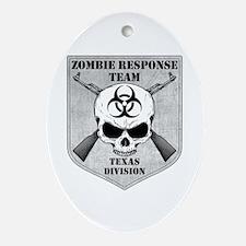 Zombie Response Team: Texas Division Ornament (Ova