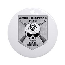 Zombie Response Team: Texas Division Ornament (Rou