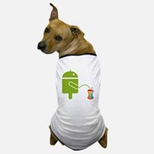 Unique Android Dog T-Shirt