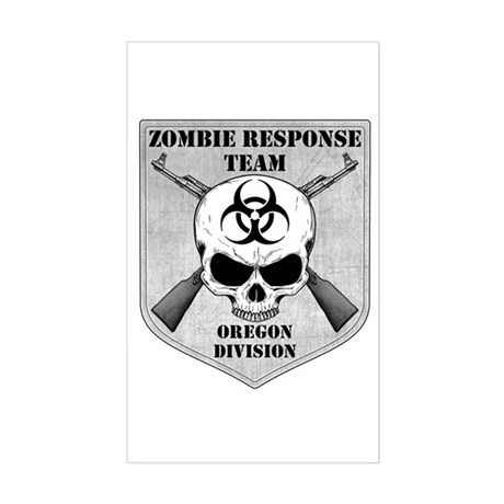 Zombie Response Team: Oregon Division Sticker (Rec