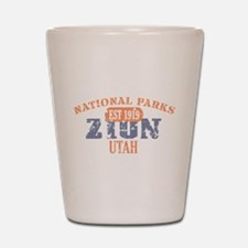 Zion National Park Utah Shot Glass