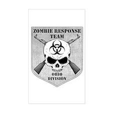 Zombie Response Team: Ohio Division Decal