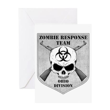 Zombie Response Team: Ohio Division Greeting Card