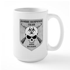 Zombie Response Team: Ohio Division Large Mug
