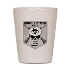 Zombie Response Team: Ohio Division Shot Glass