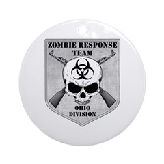 Zombie Response Team: Ohio Division Ornament (Roun