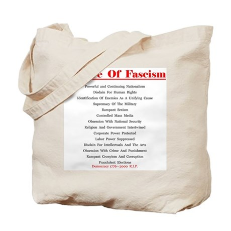 Beware of Fascism Gifts Tote Bag