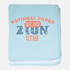 Zion National Park Utah baby blanket