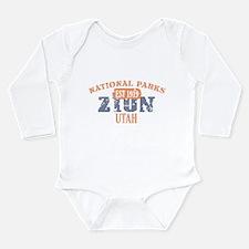 Zion National Park Utah Long Sleeve Infant Bodysui