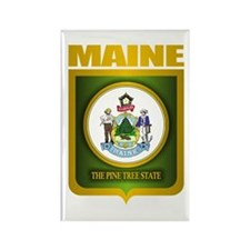"""Maine Gold"" Rectangle Magnet"