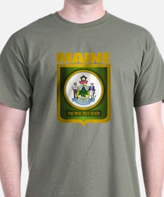 """Maine Gold"" T-Shirt"