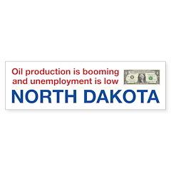 North Dakota Drilling Oil Sticker (Bumper 50 pk)
