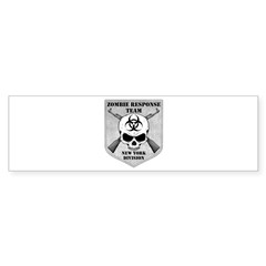 Zombie Response Team: New York Division Bumper Sticker