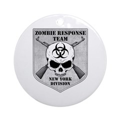 Zombie Response Team: New York Division Ornament (