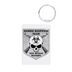 Zombie Response Team: New Mexico Division Keychains