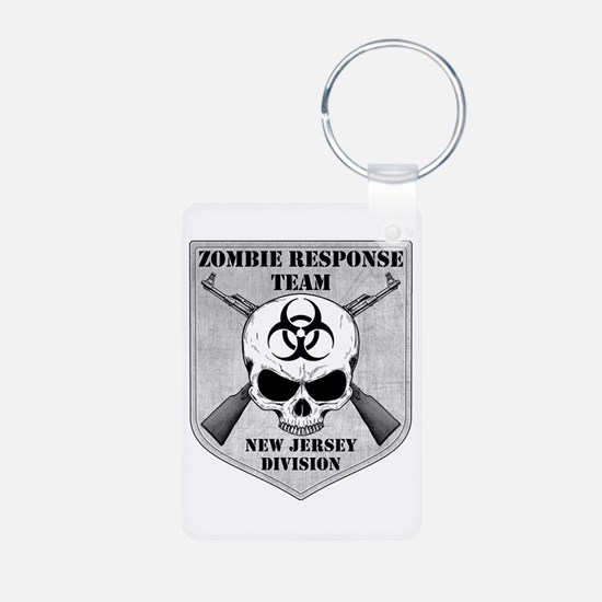 Zombie Response Team: New Jersey Division Keychains