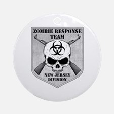Zombie Response Team: New Jersey Division Ornament