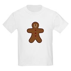 Gingerbread Man Kids T-Shirt