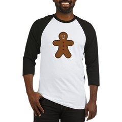 Gingerbread Man Baseball Jersey