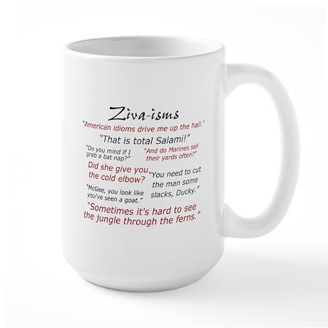 Ziva-Isms Large Mug Mugs