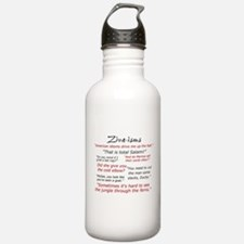 Ziva-isms Water Bottle