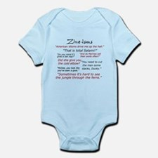 Ziva-isms Infant Bodysuit