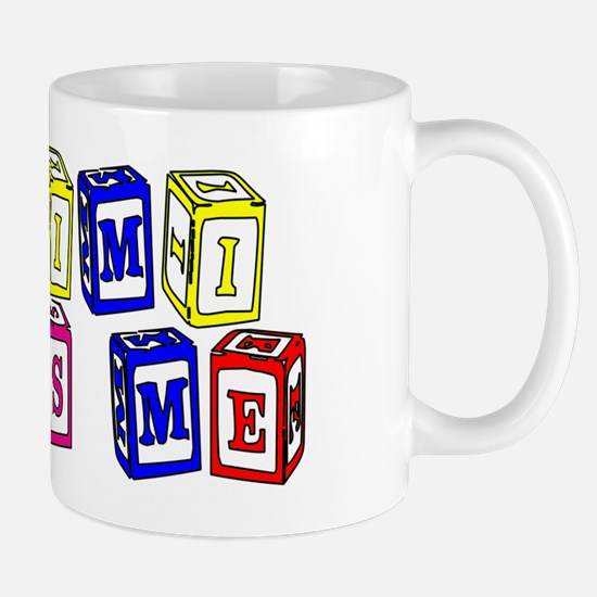 My Mimi Loves Me! (3-D Blocks) Mug