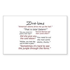 Ziva-isms Decal