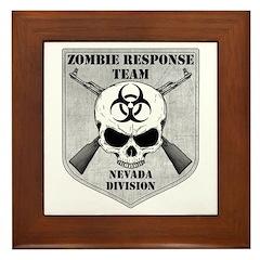 Zombie Response Team: Nevada Division Framed Tile