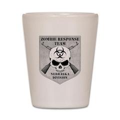 Zombie Response Team: Nebraska Division Shot Glass