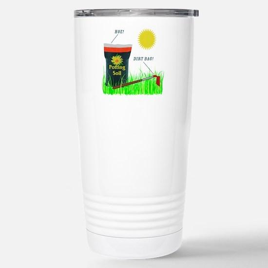Dirt Bag Stainless Steel Travel Mug
