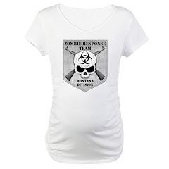 Zombie Response Team: Montana Division Maternity T