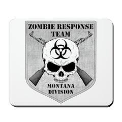 Zombie Response Team: Montana Division Mousepad