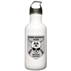 Zombie Response Team: Montana Division Water Bottle