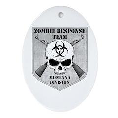 Zombie Response Team: Montana Division Ornament (O