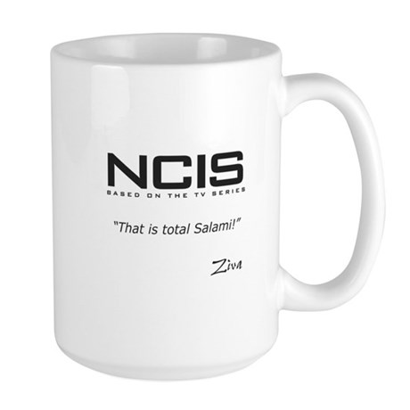 NCIS Ziva David Salami Quote Large Mug