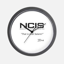 NCIS Ziva David Salami Quote Wall Clock