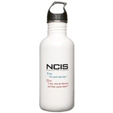 NCIS Ziva Garage Sale Quote Water Bottle