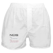 NCIS Ziva Garage Sale Quote Boxer Shorts