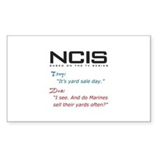 NCIS Ziva Garage Sale Quote Decal