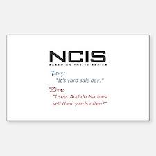 NCIS Ziva Garage Sale Quote Decal