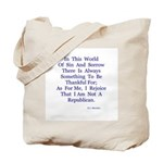 Sin And Sorrow Gifts Tote Bag