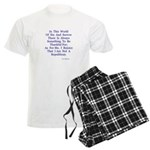 Sin And Sorrow Gifts Men's Light Pajamas