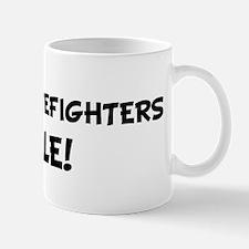 FOREST FIREFIGHTERS Rule! Mug