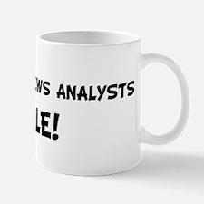 BROADCAST NEWS ANALYSTS Rule! Mug