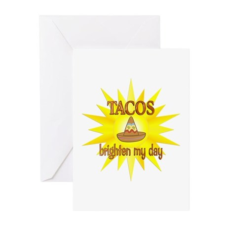 Tacos Brighten Greeting Cards (Pk of 20)