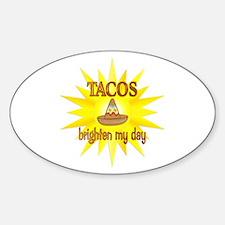 Tacos Brighten Decal