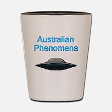 Australian Phenomena Shot Glass